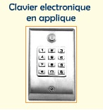 clavier electronique en applique